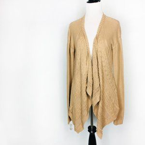 Volcom Waterfall Front Cable Knit Cardigan Sweater